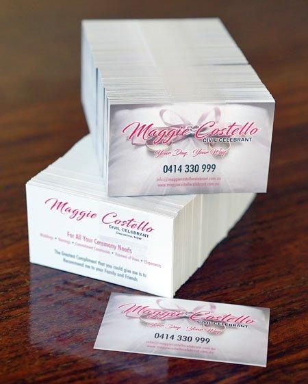 Business Card standard Vertex Media Print Design