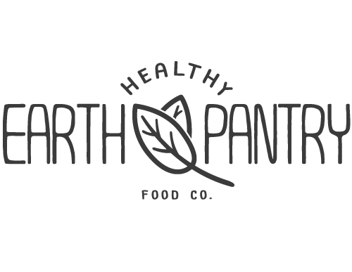 logo design by vertex media healthy earth pantry