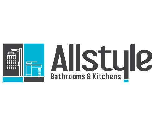 All Style Bathroom Kitchens Australia | Logo design by VERTEX MEDIA CREATIVE STUDIO