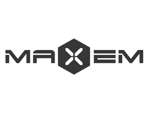 MAXEM logo Design by VERTEX MEDIA