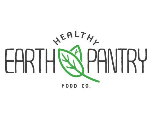 logo design healthy earth pantry food kingscliff nsw australia