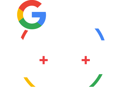 Find us on Google Icon - Website Plus Premium Web Hosting + Business Listing Package (Light Colour Scheme)